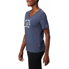Columbia Mount Rose Relaxed Tee Women, nocturnal heather